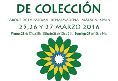 CARTEL X FERIA DE PLANTAS DE COLECCION
