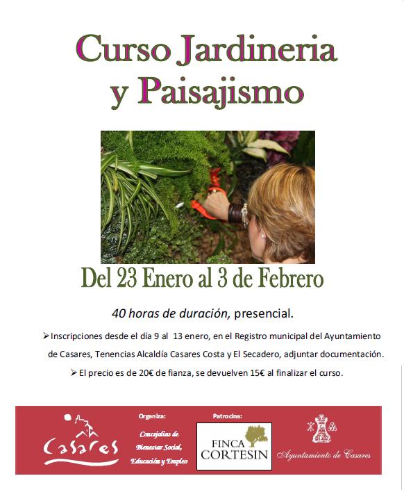 cartel curso jardineria y paisajismo2